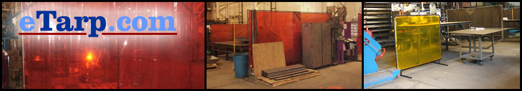 Custom welding screens